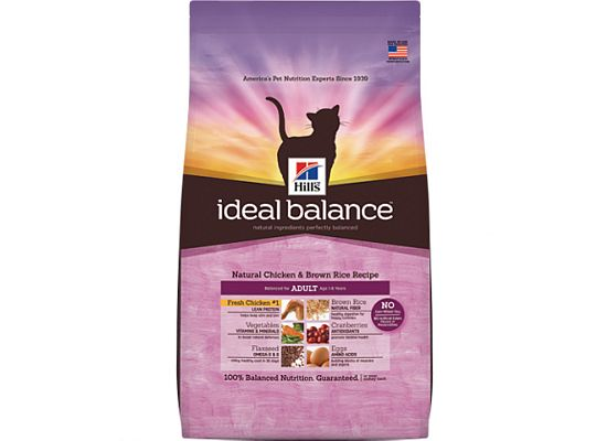 Hills Ideal Balance Feline Adult with Fresh Chicken & Brown Rice