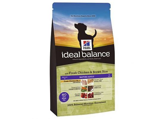 Hills Ideal Balance Feline Mature Adult with Fresh Chicken & Brown