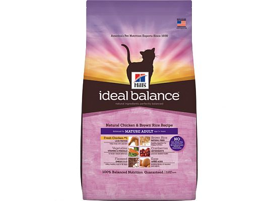 Hills Ideal Balance cat Feline Mature Adult with Fresh Chicken