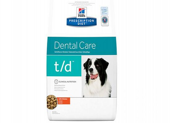 Hills PRESCRIPTION DIET TD DENTAL CARE ΜΕ ΚΟΤΟΠΟΥΛΟ.