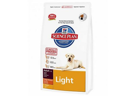Hills Science Plan Adult Light Large Breed Chicken