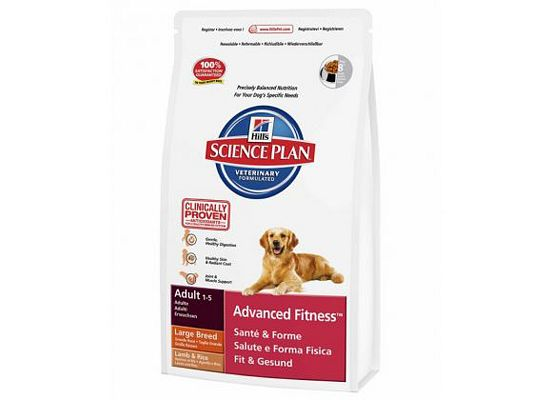 Hills Science Plan Canine Adult Advanced Fitness Large Breed Αρνί