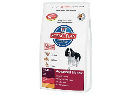 Hills Science Plan Canine Adult Advanced Fitness Medium Κοτόπουλο