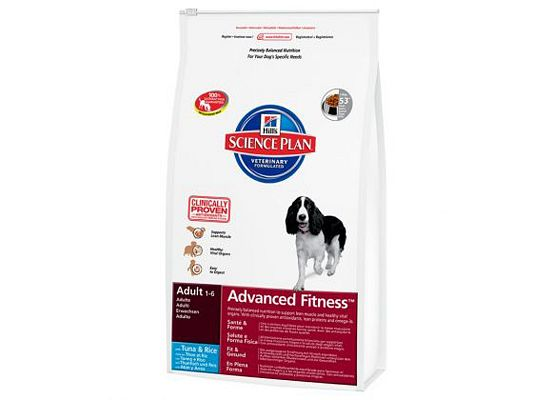 Hills Science Plan Canine Adult Advanced Fitness Tuna & Rice