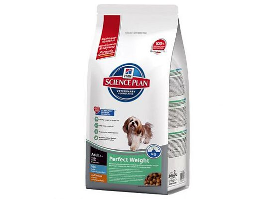 Hills Science Plan Canine Adult Perfect Weight Large breed Chicken