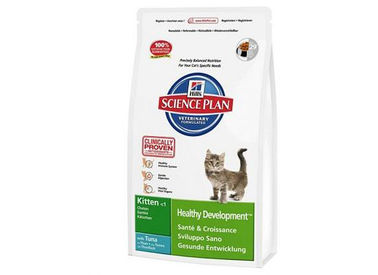 Hills Science Plan Kitten Healthy Development. Tuna