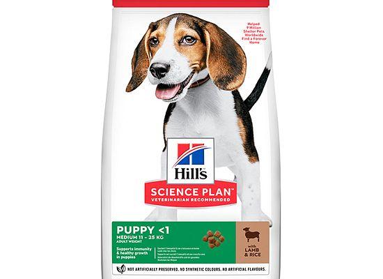 Hills Science Plan Puppy Medium Lamb & Rice