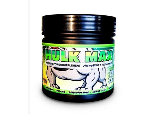 Hulk Max Μυϊκό συμπλήρωμα για άμεση βελτίωση επιδόσεων