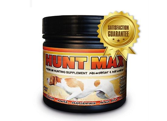 Hunt Max Μυϊκό συμπλήρωμα για άμεση βελτίωση επιδόσεων