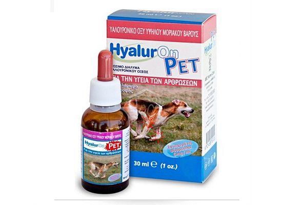 Hyaluron Pet Υγρό Πόσιμο διάλυμα Υαλουρονικύ νατρίου (Ενισχυμένη σύνθεση
