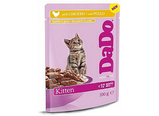 Dado Kitten Pouch Chicken