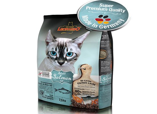 Leonardo Adult Salmon CAT GRAIN FREE