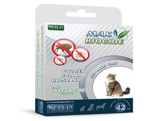 Max Biocide Αντιπαρασιτικό Περιλαίμιο Γάτας