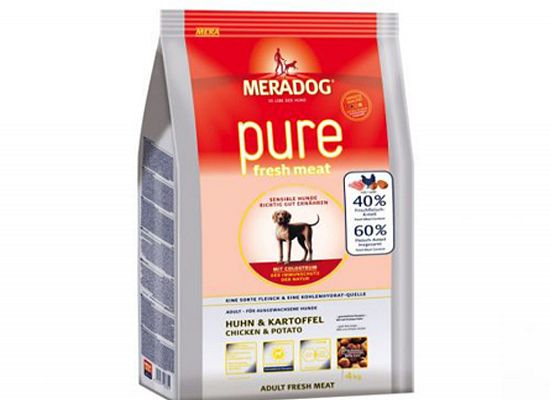 Meradog PURE FRESH MEAT CHICKEN & POTATO-GRAIN FREE