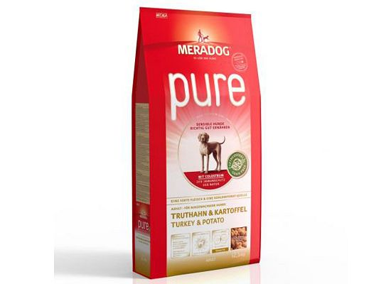 Meradog PURE TURKEY & POTATO – GRAIN FREE