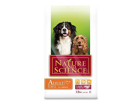 Nature and Science Adult Lamb & Rice all breeds