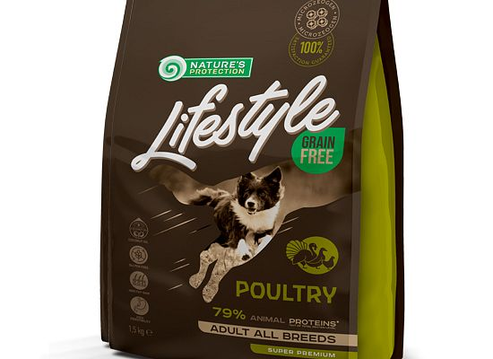 Nature's Protection Lifestyle Grain Free Poultry – Adult