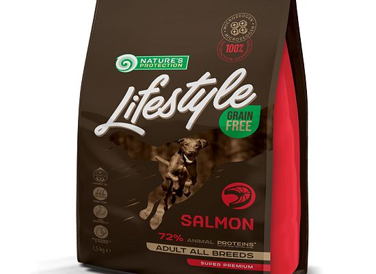 Nature's Protection Lifestyle Grain Free Salmon – Adult