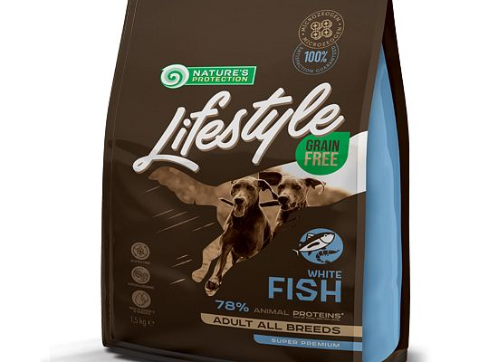 Nature's Protection Lifestyle Grain Free White Fish with Krill – Adult
