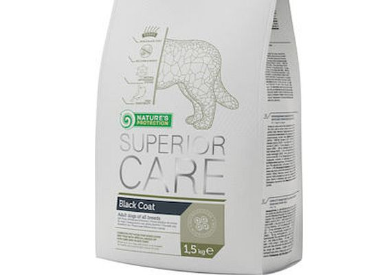 Nature's Protection SUPERIOR CARE – BLACK COAT – GRAIN FREE
