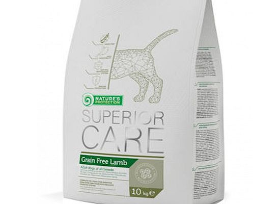 Nature's Protection SUPERIOR CARE SENSITIVE SKIN & STOMACH – GRAIN FREE LAMB