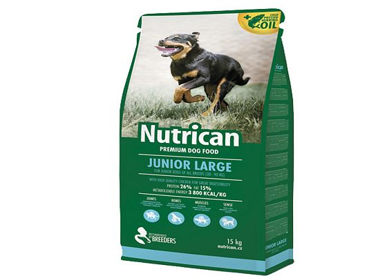 Nutrican Junior Large Breeds.