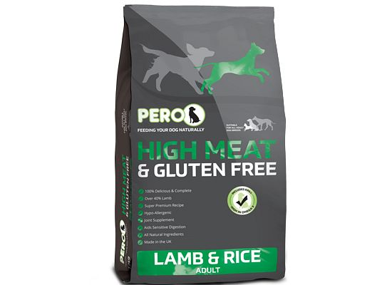 Pero High Meat & Gluten Free lamb & rice