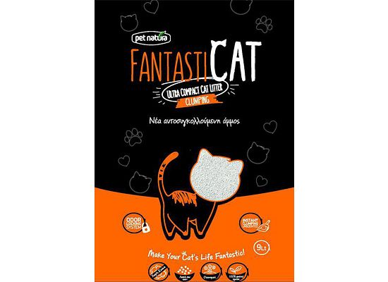Pet Natura FANTASTICAT. Αμμος γάτας με ζεόλιθο