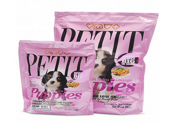 Petit Puppies Chicken & Rice formula