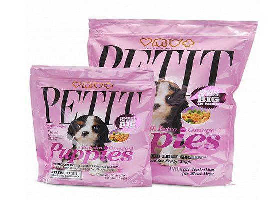 Petit Puppies Chicken & Rice formula