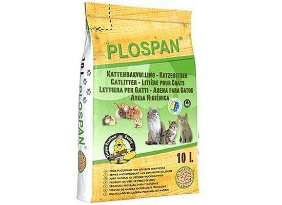 Plospan Pellet υπόστρωμα γάτας και τρωκτικών.