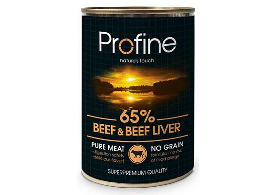 Profine Κονσέρβα – Grain Free. Συσκευασία 6 τεμάχια Χ 400gr.