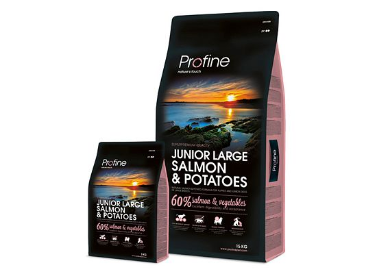 Profine Junior Large breed. Salmon & potatoes