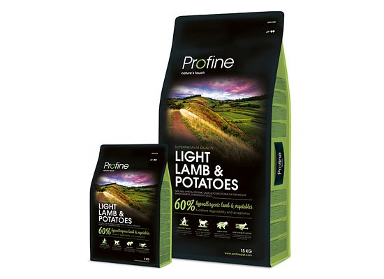 Profine Light. Lamb & Potatoes Formula