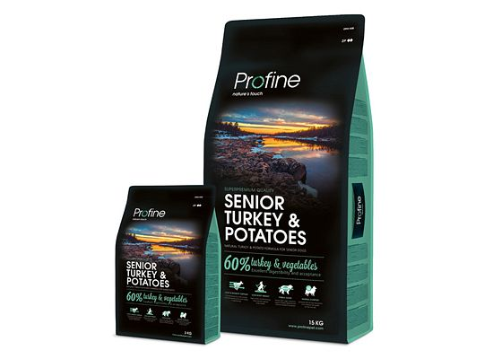 Profine Senior. Turkey & Potatoes Formula