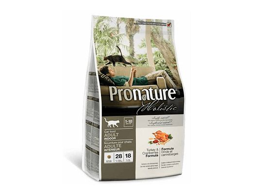 Pronature Holistic Adult 1+ Years, Indoor, Turkey & Cranberries Form