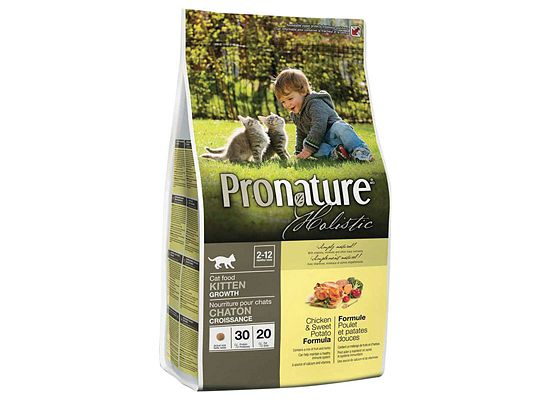 Pronature Kitten, growth 2-12 months