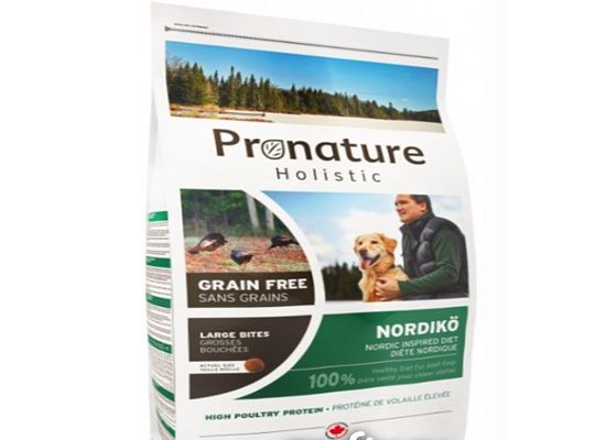 Pronature Nordiko for adult dogs. GRAIN FREE