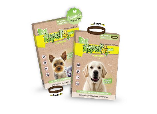Repelli Αντιπαρασιτικό περιλαίμιο σκύλου Repelli