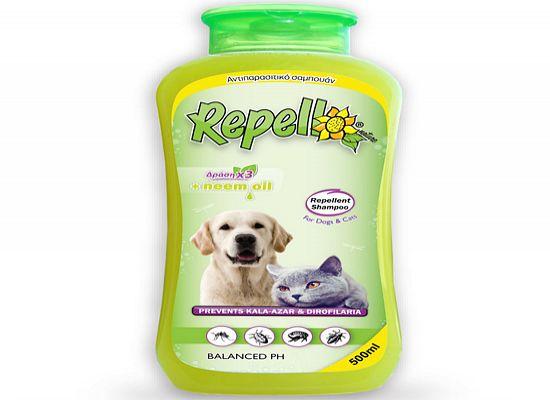 Repelli Αντιπαρασιτικό – απωθητικό σαμπουάν.