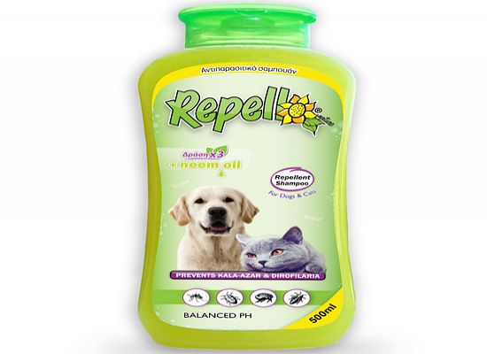 Repelli Αντιπαρασιτικό - απωθητικό σαμπουάν.