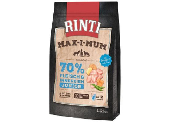 Rinti Max-i-mum Junior Κοτόπουλο Grain free