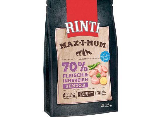 Rinti Max-i-mum Senior Κοτόπουλο Grain free
