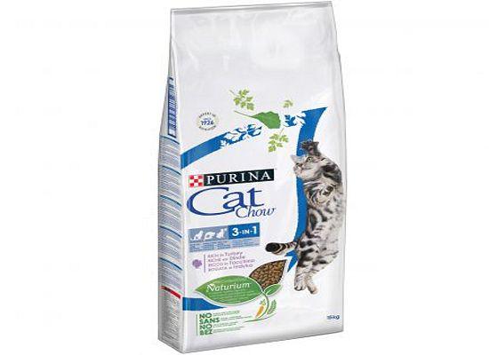 Tonus Cat Chow Cat Chow Feline 3 in 1 with Turkey