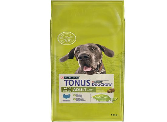 Tonus Dog chow Adult Large Breed -Γαλοπούλα