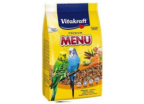 Vitakraft Βασική Τροφή Premium για νεαρά παπαγαλάκια με μέλι