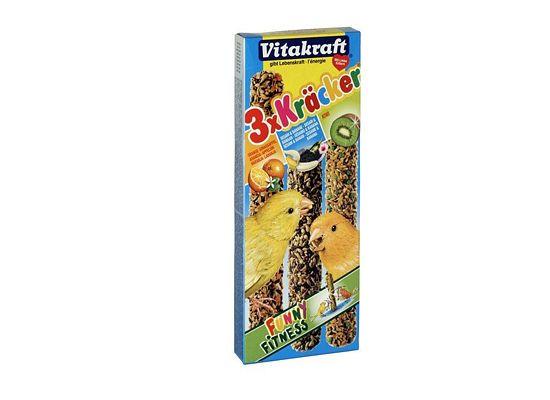 Vitakraft Kracker Tripack Με Μελι,Αυγο,Φρουτα