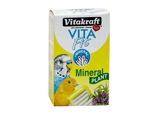 Vitakraft Mineral Plant πέτρα χλωρίου για το ακόνιισμα του ράμφους