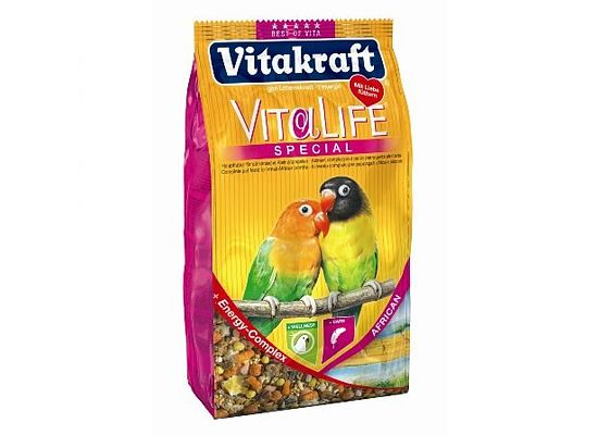 Vitakraft Vita Life τροφή με προβιοτικά για Love Birds