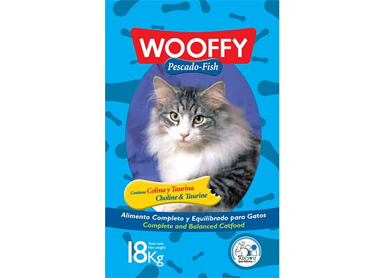 Woffy adult 1+ years – Pescado